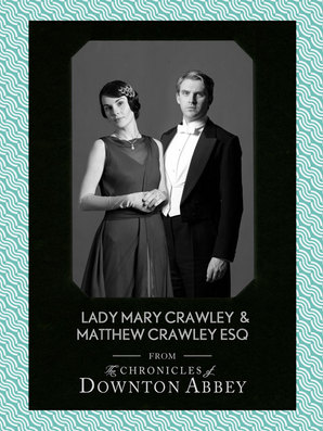 Lady Mary Crawley and Matthew Crawley Esq. by Matthew Sturgis