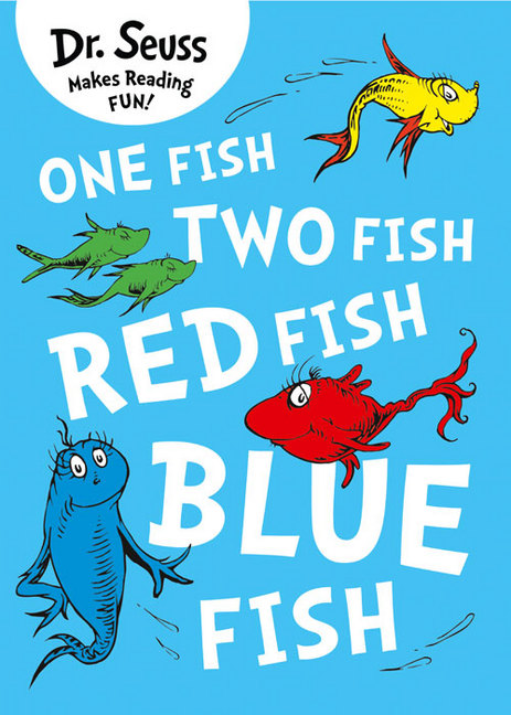 Book details one fish two fish red fish blue fish for One fish two fish red fish blue fish